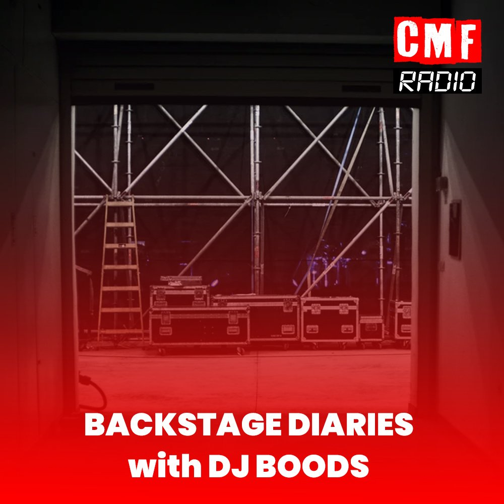 Backstage Diaries DJ Boods CMF Radio