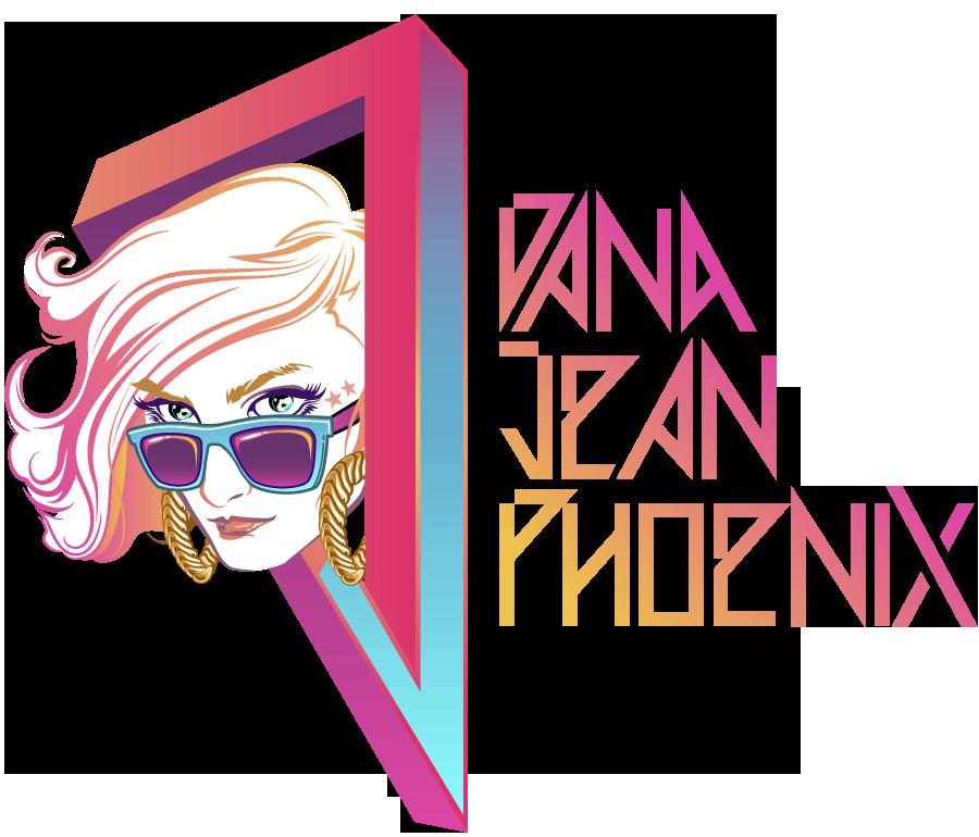 Dana Jean Phoenix Logo CMF Radio