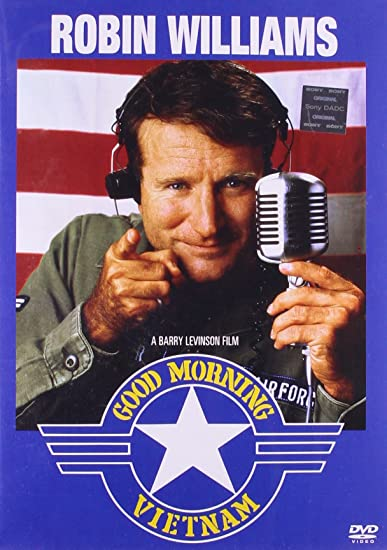 Good Morning Vietnam Movie 1987 Poster Radio
