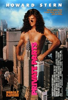 Private Parts Howard Stern Movie Radio DJ