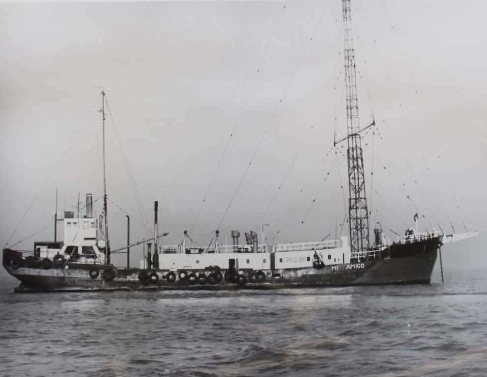 Radio Caroline - 1976 (National Archives - UK)