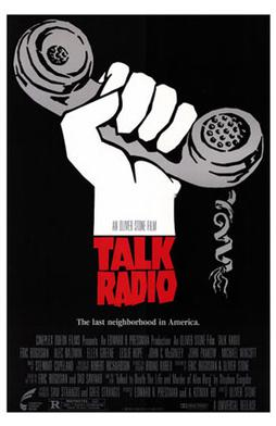 Talk Radio DJ Movie Poster