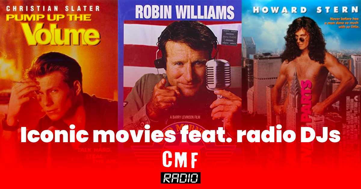 iconic movies radio djs