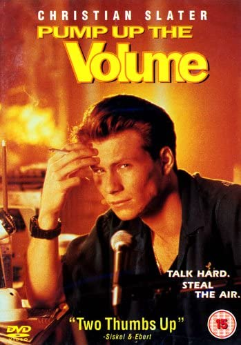 pump up the volume movie radio poster