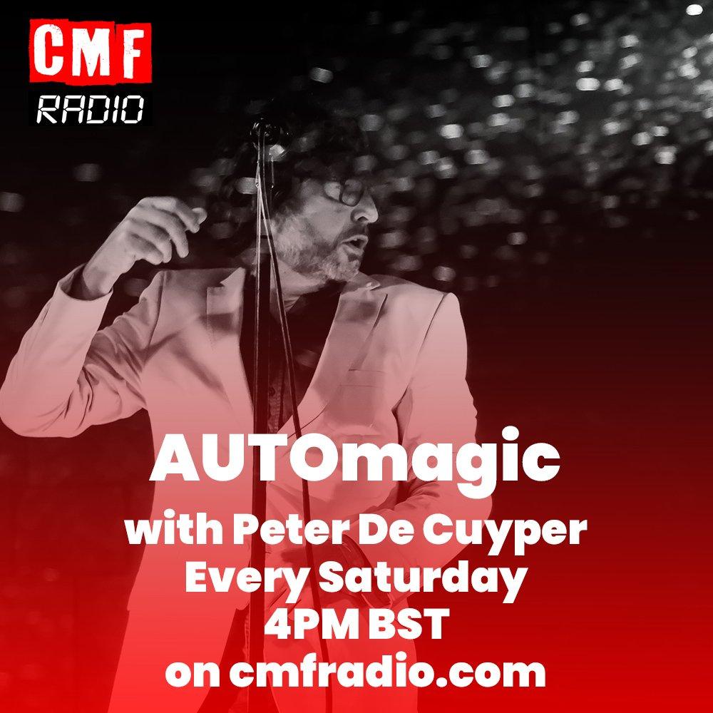 Host Peter de Cuyper AUTOmagic CMF Radio show