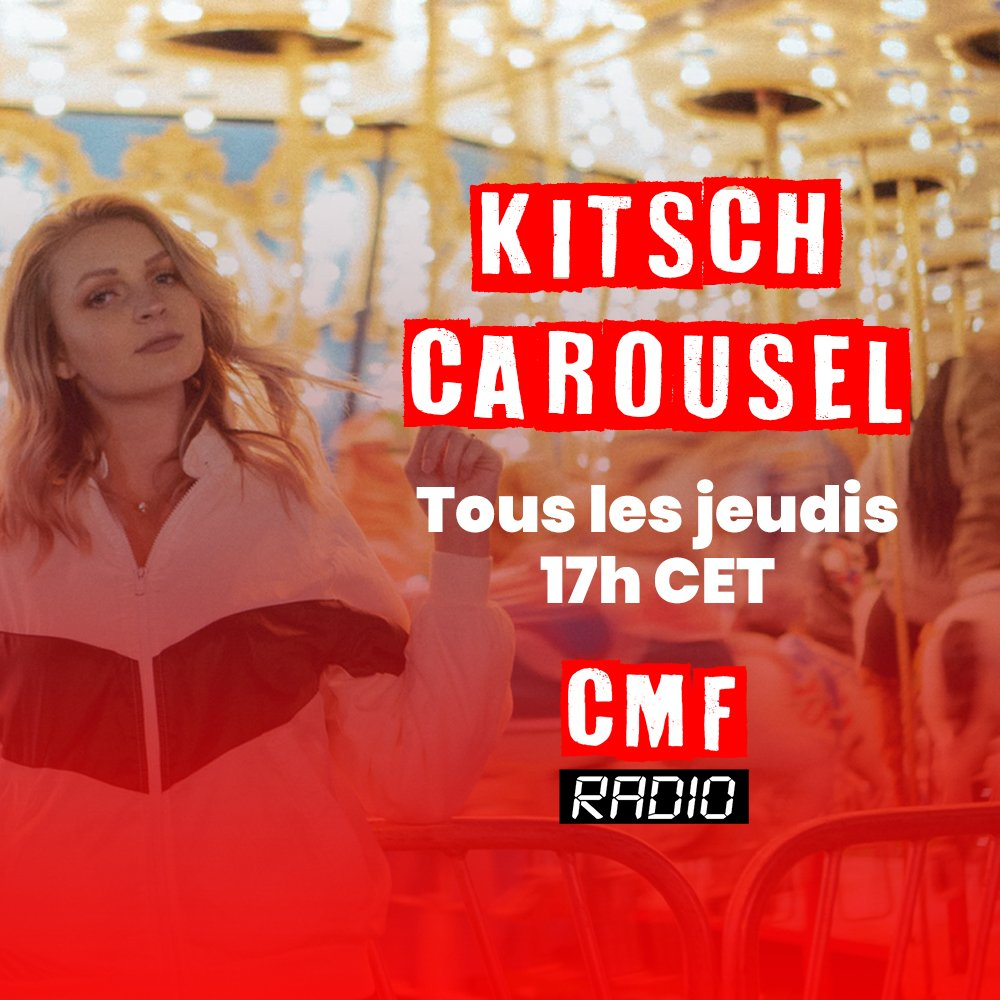 Kitsch Carousel on CMF Radio