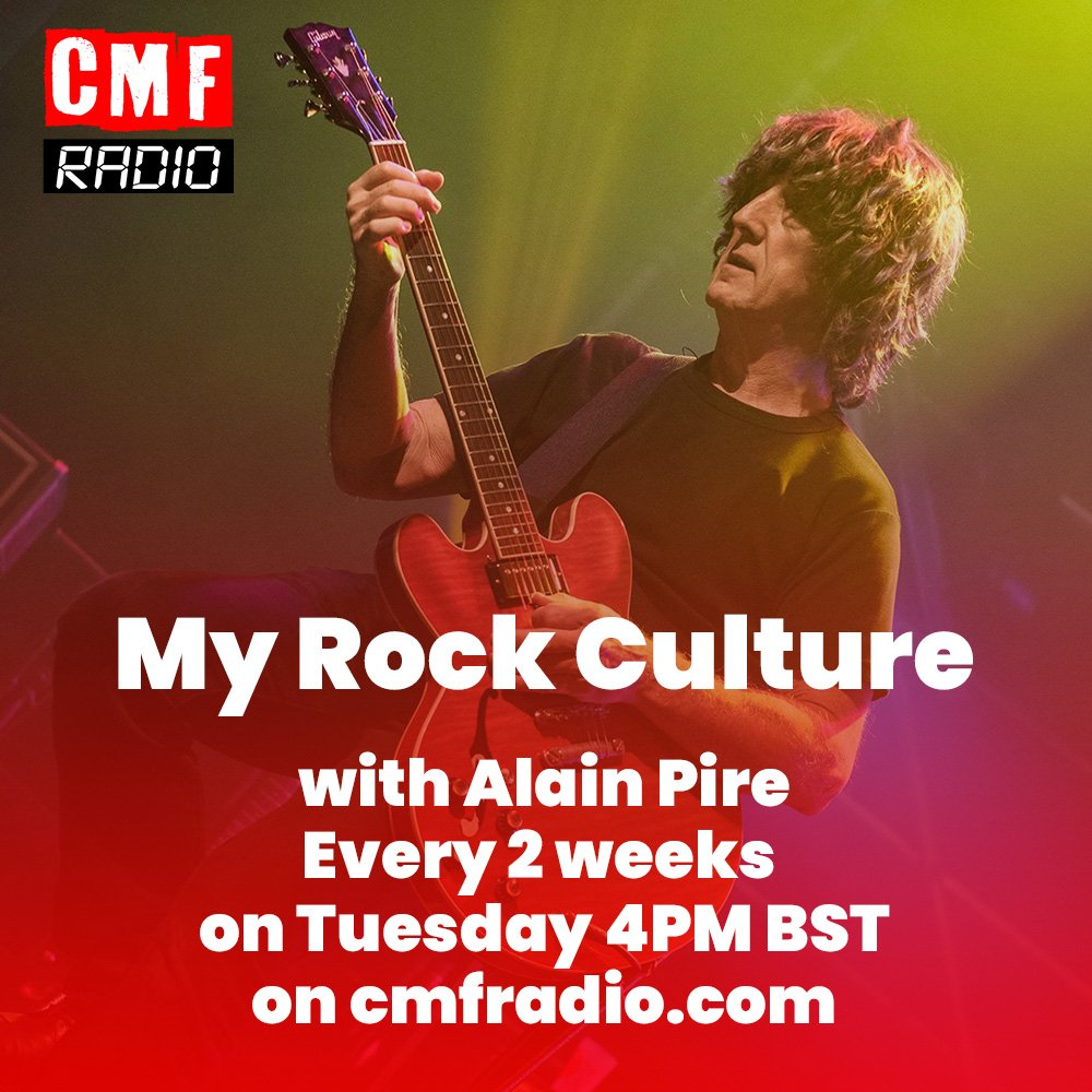 My Rock Culture Alain Pire CMF Radio
