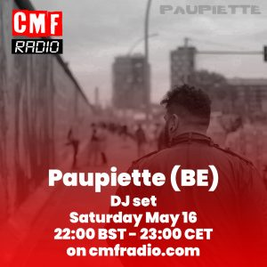 Paupiette DJ Set on CMF Radio