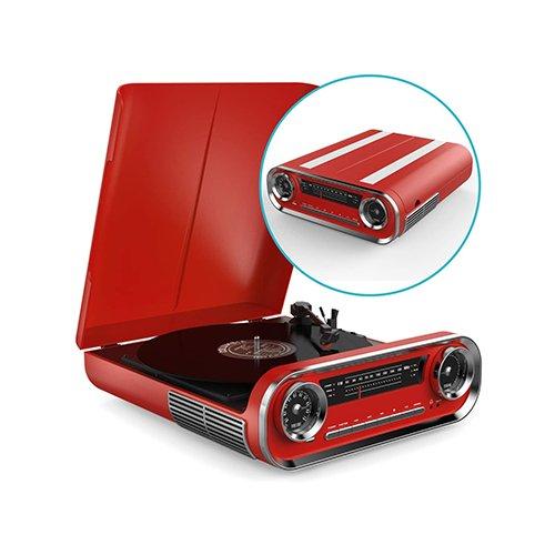 American Car vinyl record player