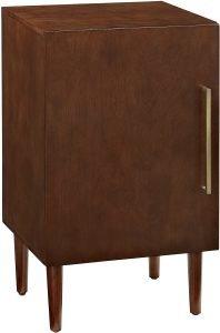 Crosley Furniture Everett Mid-Century Modern Record Player Stand