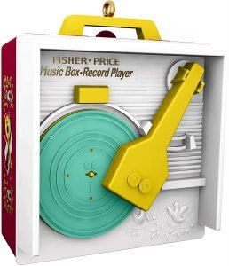 fisher price record player vintage