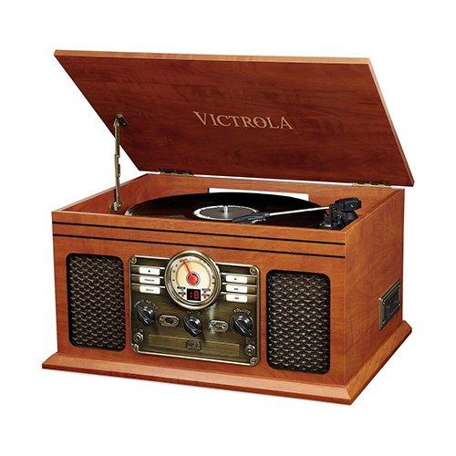 victrola classic art deco record player