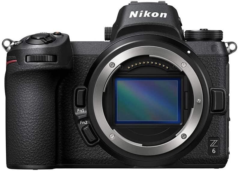 Nikon Z6 Full Frame Mirrorless Camera Body live stream